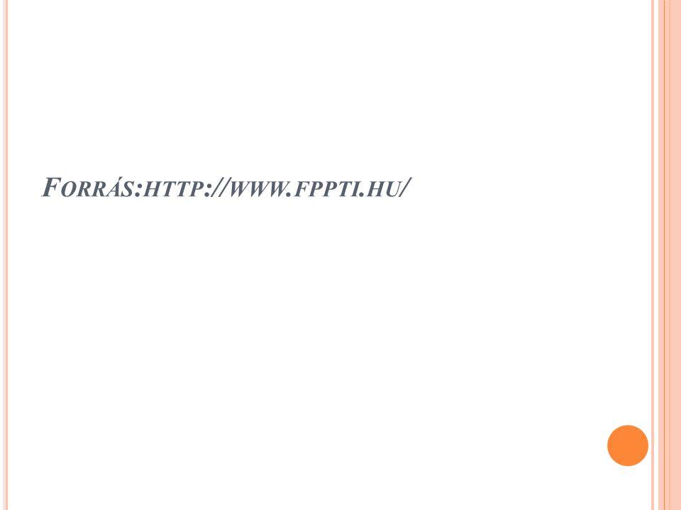 F ORRÁS : HTTP :// WWW. FPPTI. HU /
