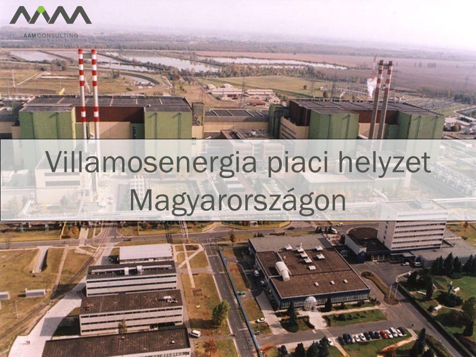Villamosenergia piaci helyzet Magyarországon