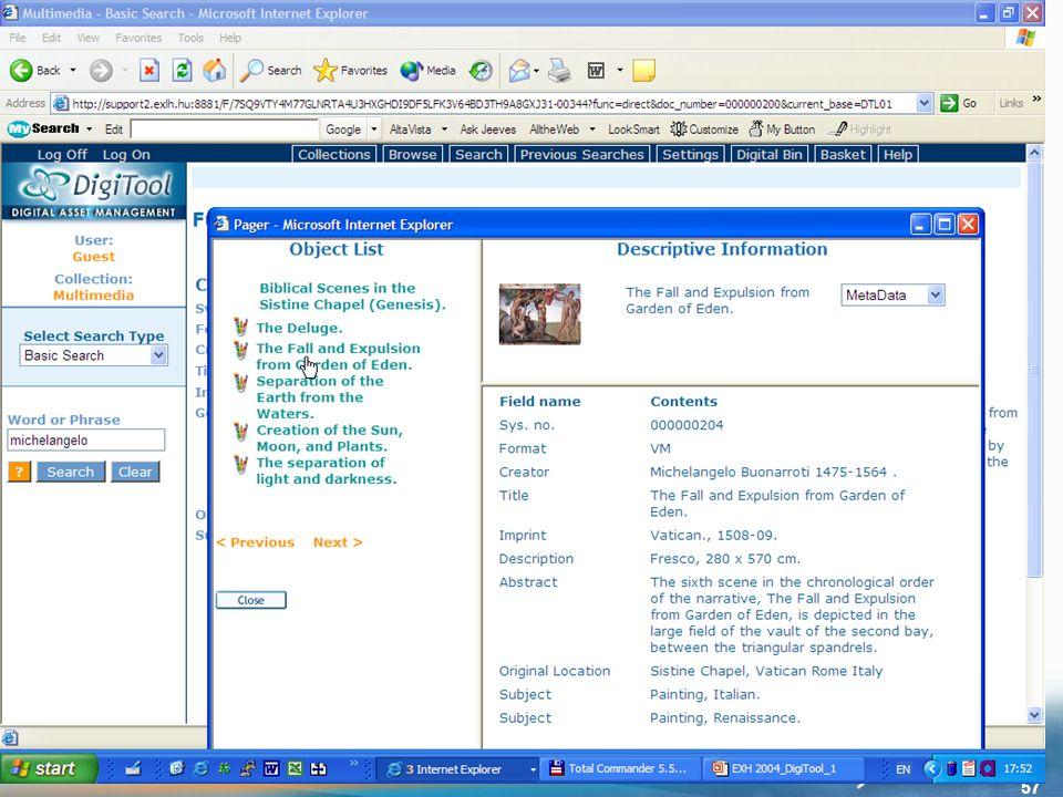 E X -L H 2004.nov. – DMS-labor 57