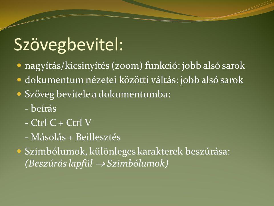 Feladat: Keresd meg ezen képzés tananyagait a www.fszek.hu weboldalon.