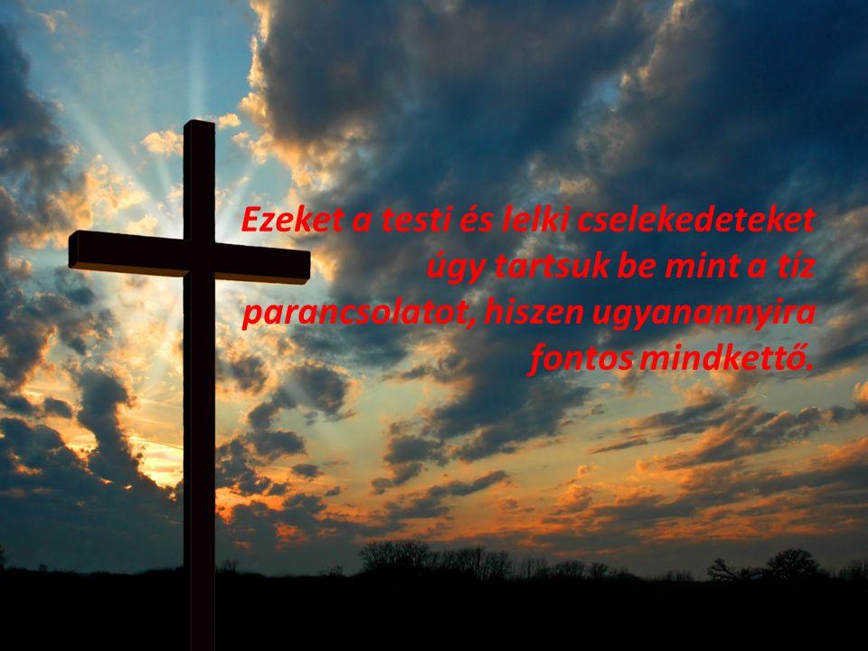A Keresztény Erkölcs A kereszténység esetében az erkölcsösség nem előzmény, hanem következmény.