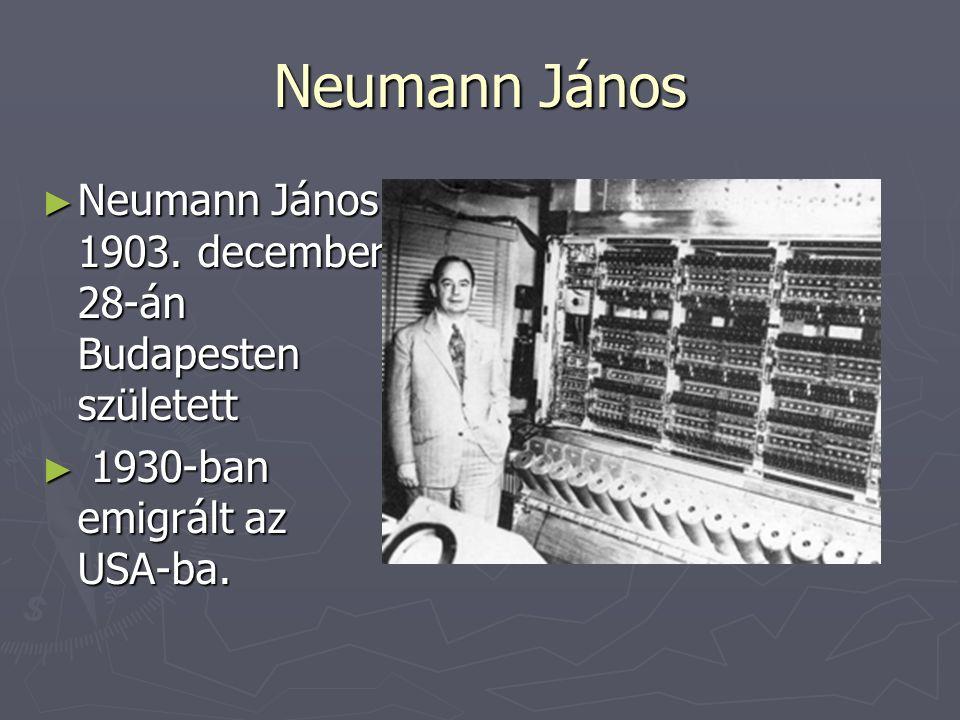 Neumann János ► Neumann János 1903.