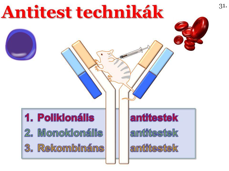 Antitest technikák 31.