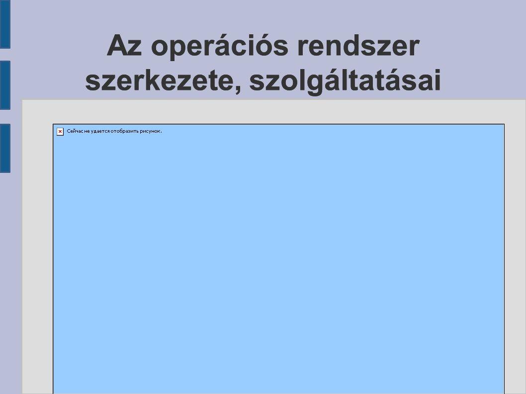 A réteges felépítés lényege, hogy az egyes rétegek meghatározott, jól definiált interfészeken keresztül kapcsolódnak egymáshoz, tehát egy réteg cseréje (például egy új periféria típus megjelenése) nem igényli az egész operációs rendszer átírását.