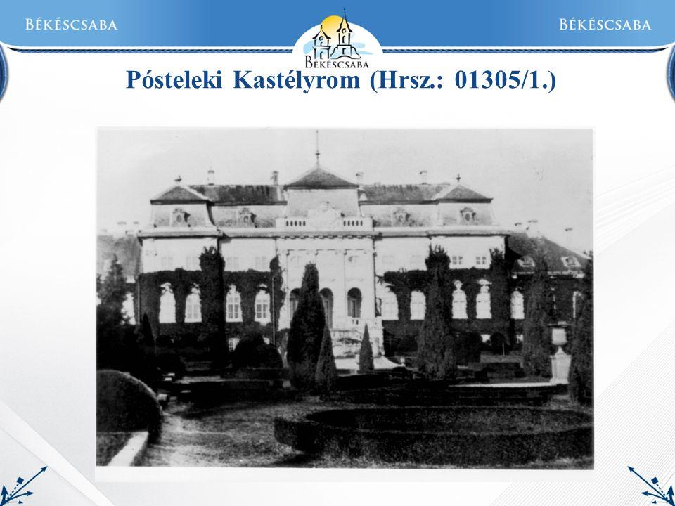 Pósteleki Kastélyrom (Hrsz.: 01305/1.)