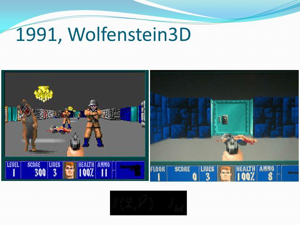 1991, Wolfenstein3D