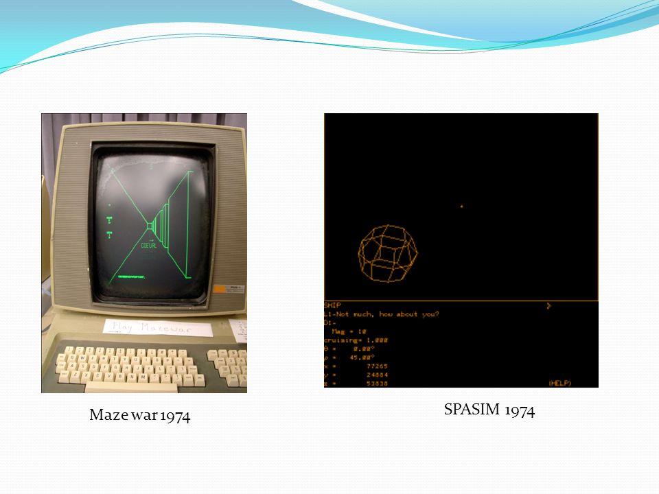 SPASIM 1974 Maze war 1974