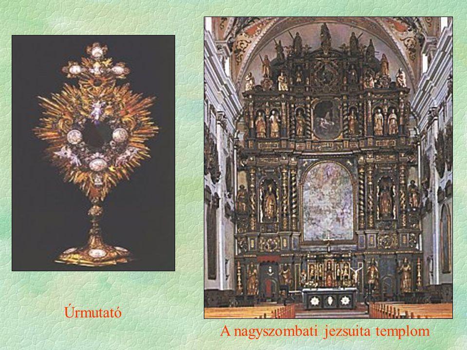 A nagyszombati jezsuita templom Úrmutató