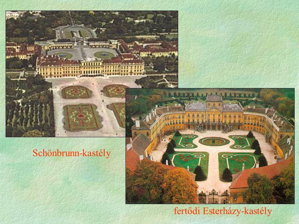 Schönbrunn-kastély fertődi Esterházy-kastély