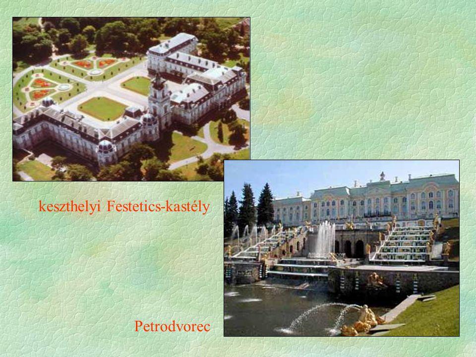 keszthelyi Festetics-kastély Petrodvorec