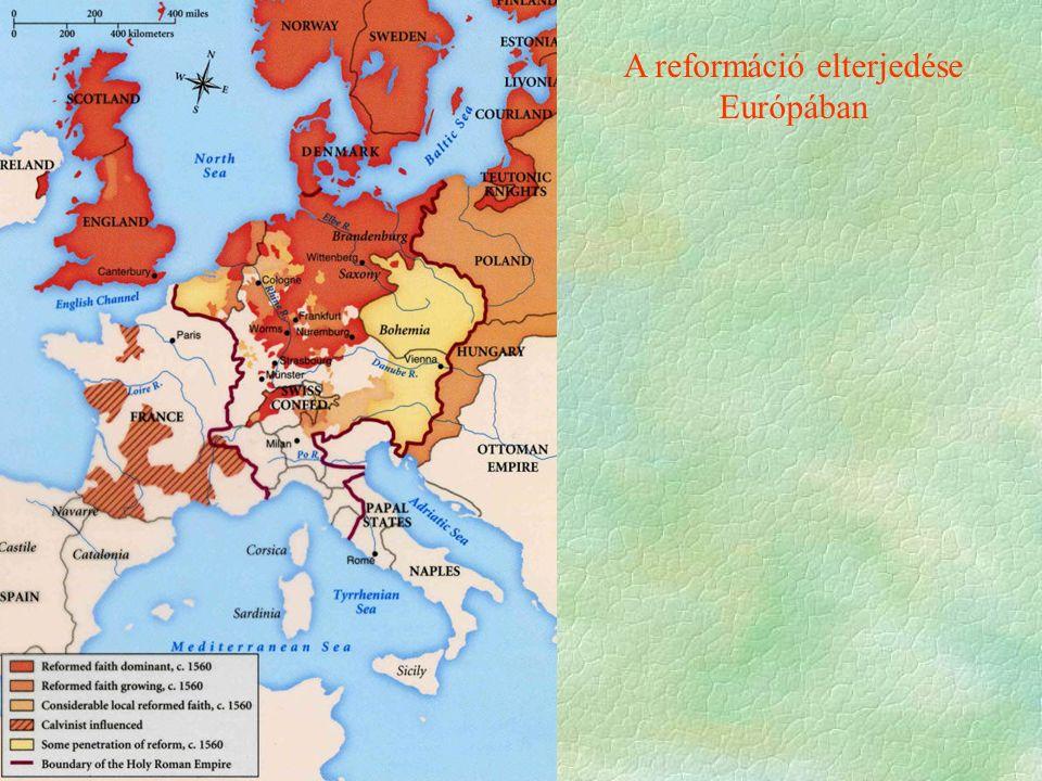 A reformáció elterjedése Európában