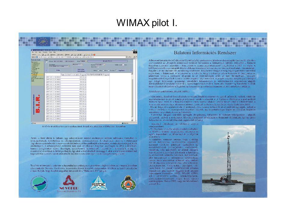 WIMAX pilot I.