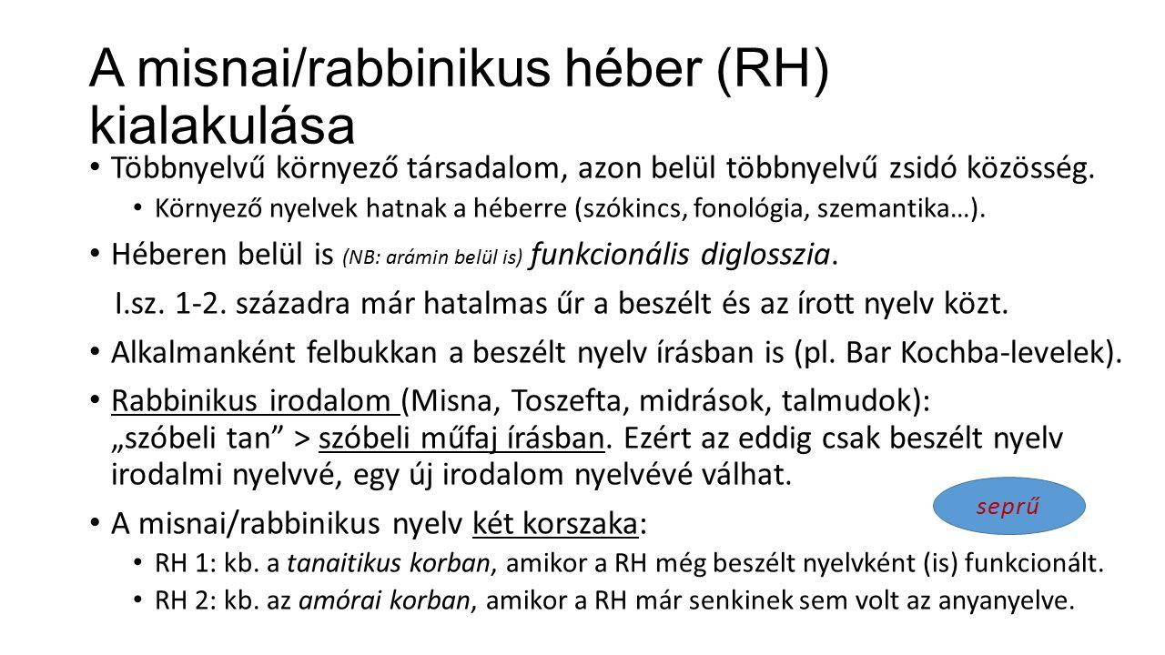 Héber és zsidó nyelvek a középkorban