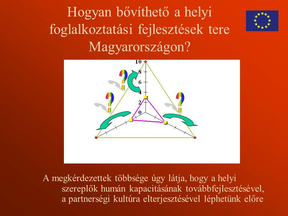 Hogyan bővíthető a helyi foglalkoztatási fejlesztések tere Magyarországon.
