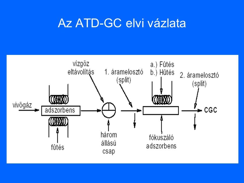 Az ATD-GC elvi vázlata