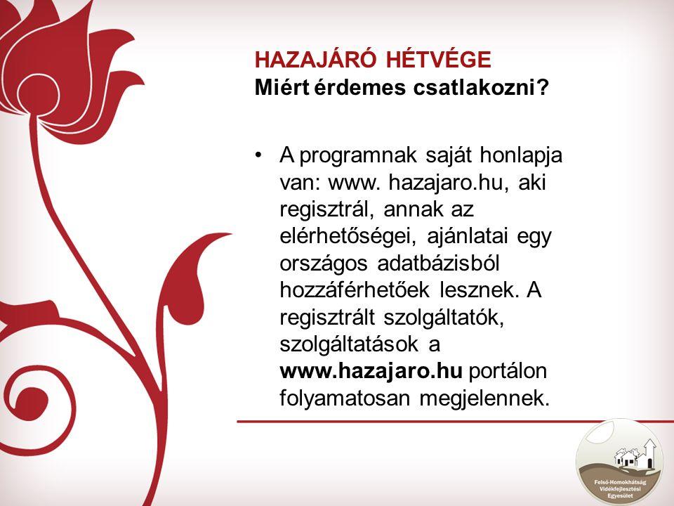 A programnak saját honlapja van: www.
