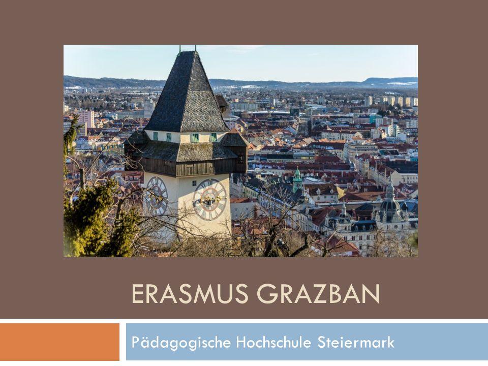 ERASMUS GRAZBAN Pädagogische Hochschule Steiermark