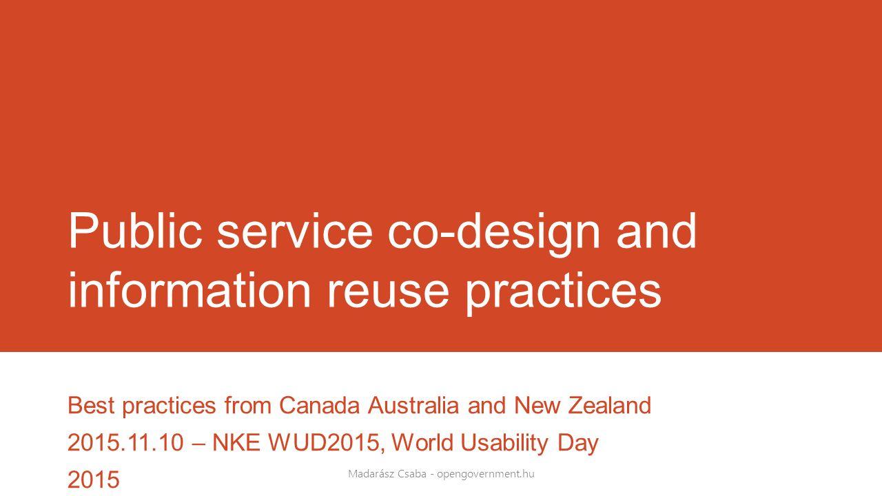 New Zealand Government Web Toolkit Madarász Csaba - opengovernment.hu