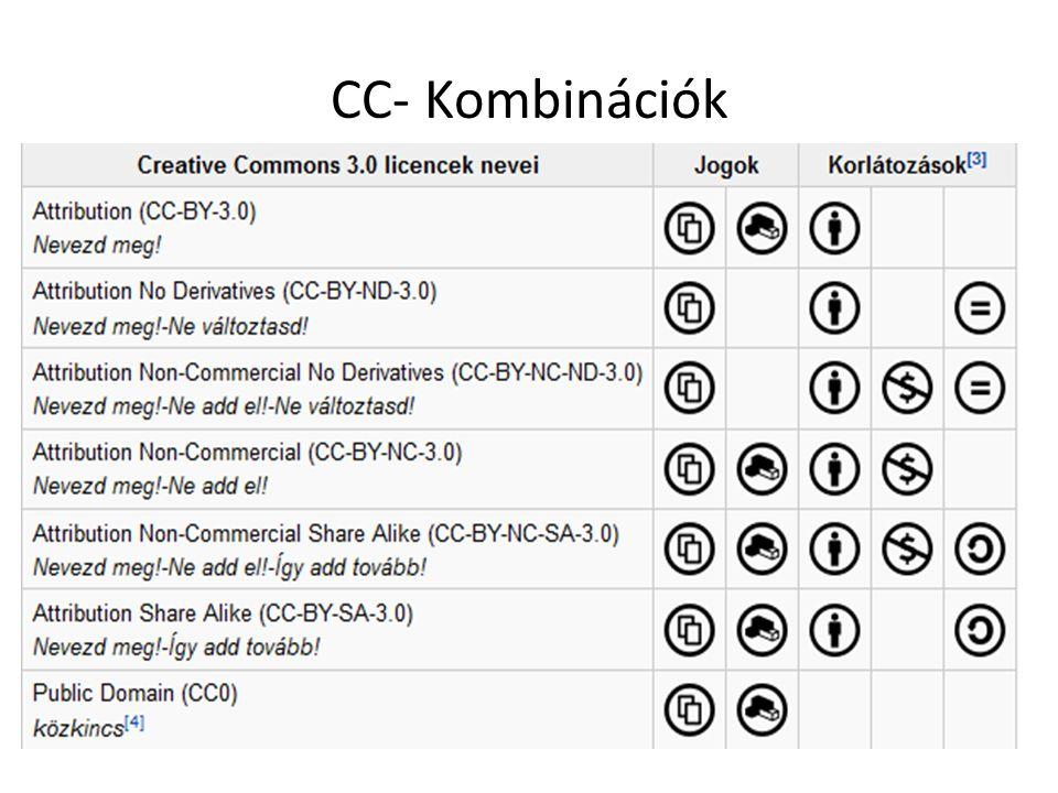 CC- Kombinációk