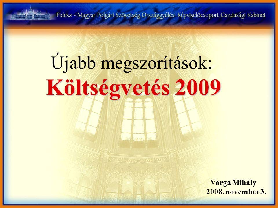 A hitelesség hiánya döntő szerepet játszott a pénzügyi csomag létrejöttében (2009-ben 7,26 milliárd forintjába kerül Magyarországnak az összeg készenléti díja) Forrás:Pénzügyminisztérium