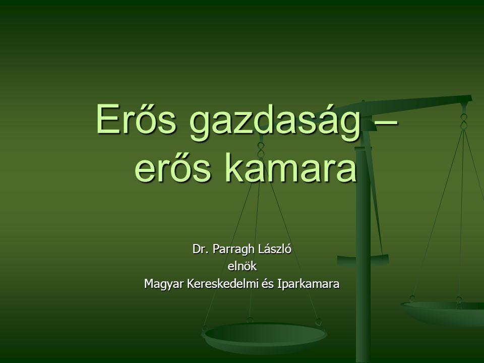 2016. 09. 25. Dr. Parragh László, elnök, Magyar Kereskedelmi és Iparkamara2