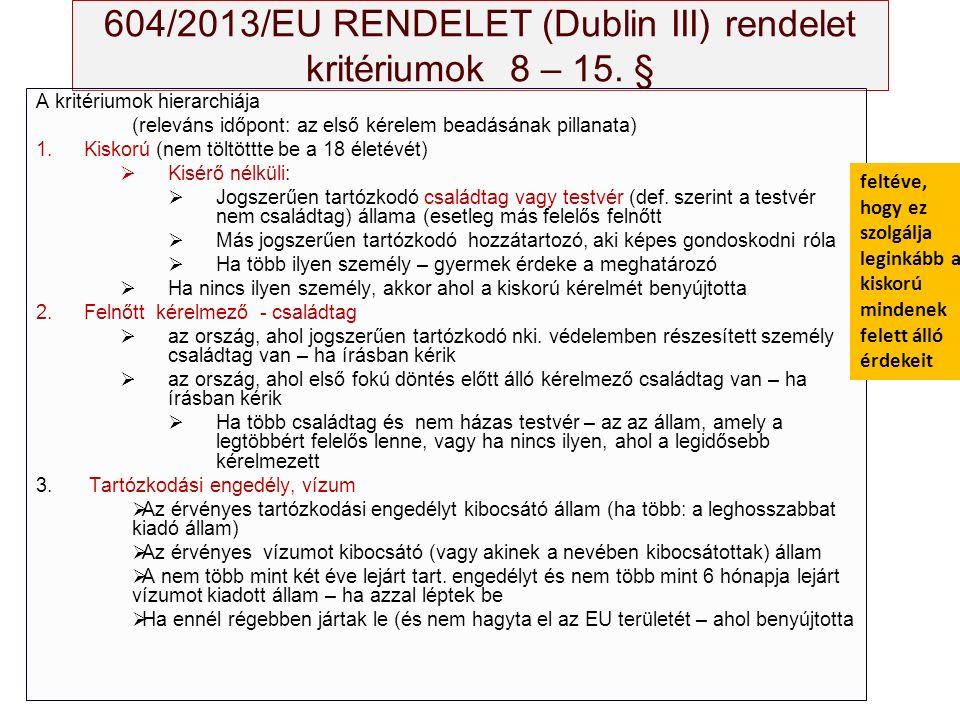 A Bizottság 2015 szeptember 9-i javaslata A bejövő kvóta számítása: Forrás: COM (2015) 450 végleges, 11.