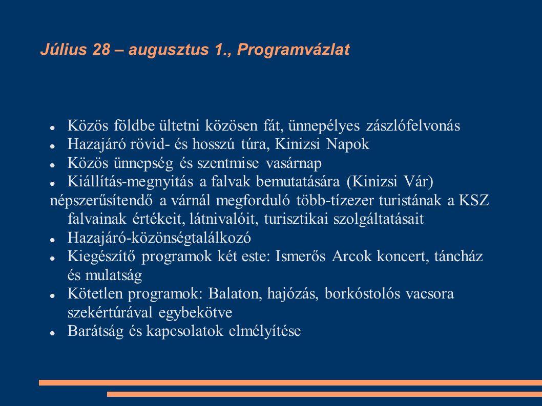 Októberi alkalom (október 12 – 19 között – egyeztetés együtt e-mailok útján) Helyszín: Csernakeresztúr és Kenyérmező (Csernakeresztúrtól kb.