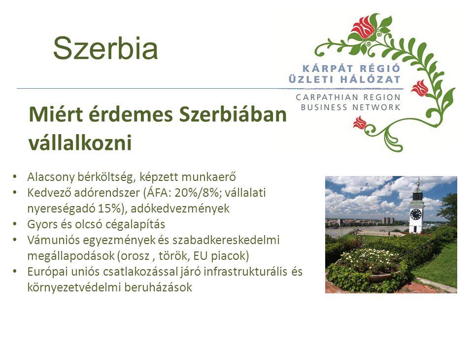 Szerbia 2011 végén a bruttó átlagkereset 61 116 RSD (kb.