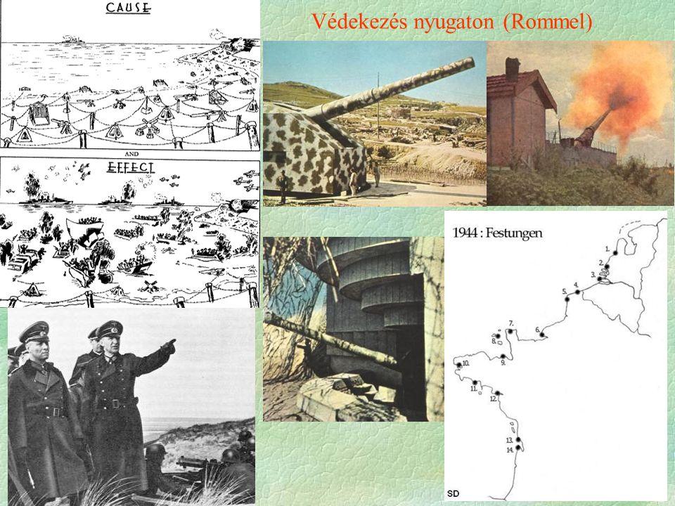 Védekezés nyugaton (Rommel)