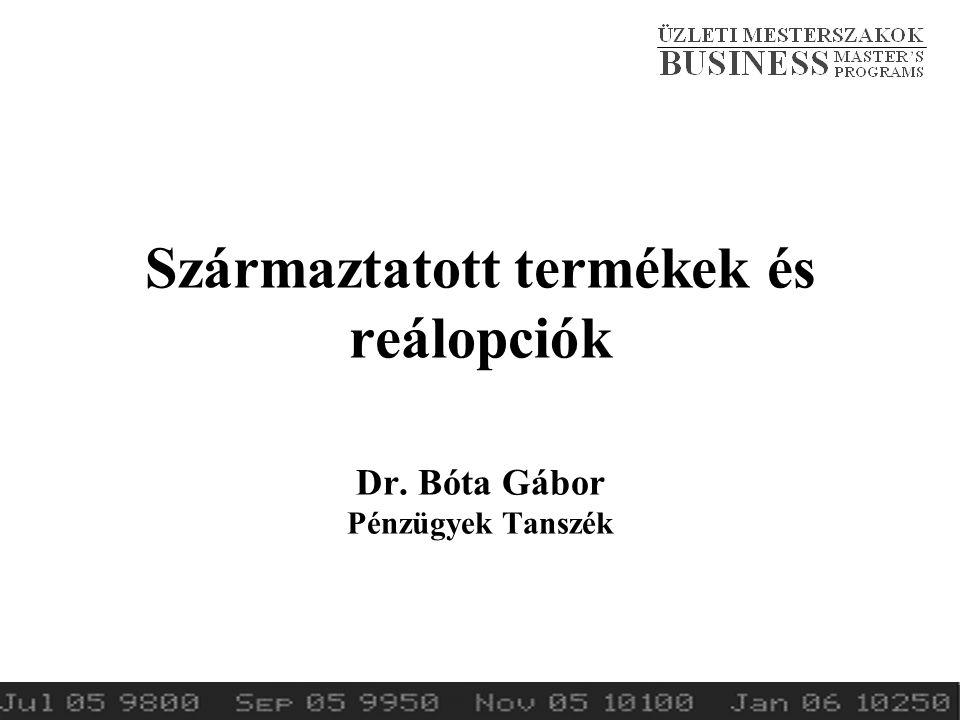 2014.tavaszSzármaztatott termékek és reálopciók2 I.