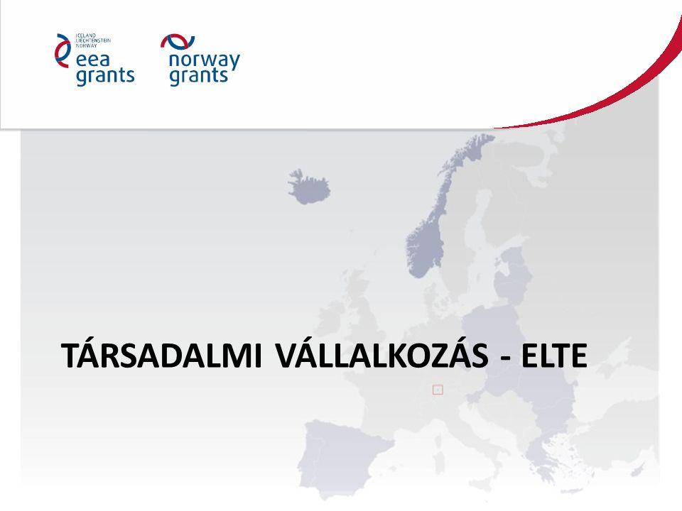 TÁRSADALMI VÁLLALKOZÁS - ELTE