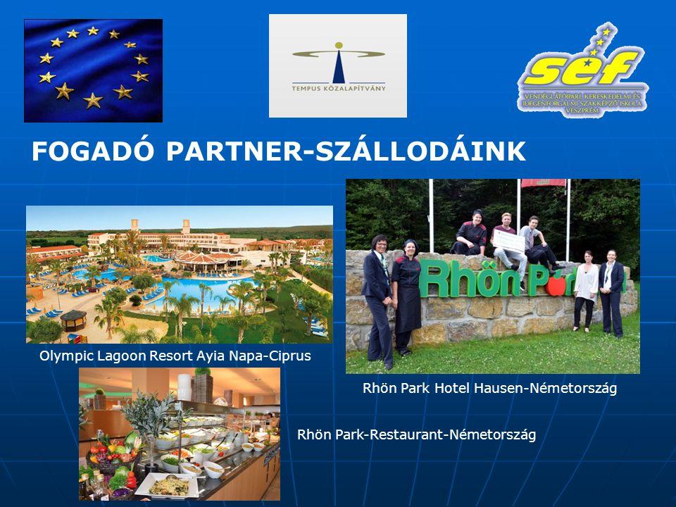Olympic Lagoon Resort Ayia Napa-Ciprus Rhön Park Hotel Hausen-Németország Rhön Park-Restaurant-Németország FOGADÓ PARTNER-SZÁLLODÁINK