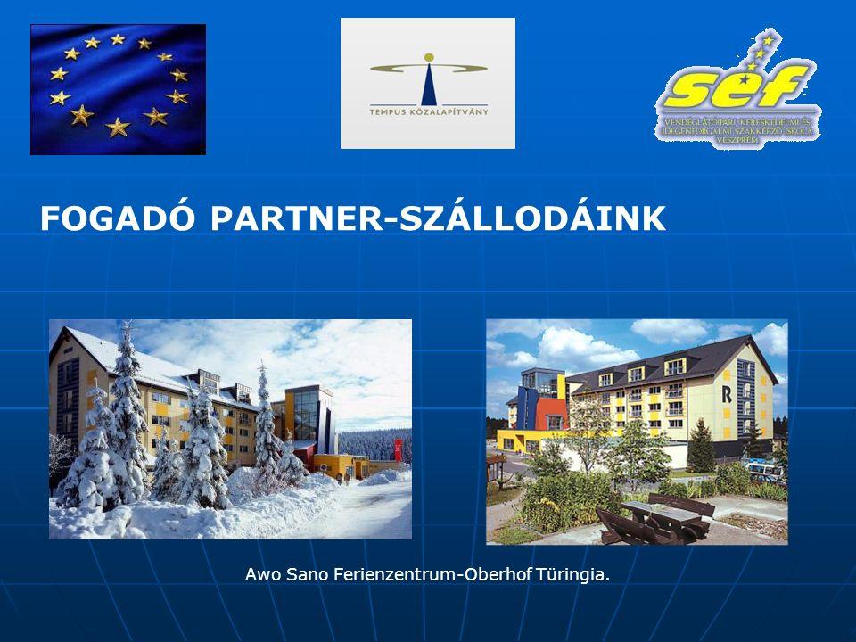 Awo Sano Ferienzentrum-Oberhof Türingia. FOGADÓ PARTNER-SZÁLLODÁINK