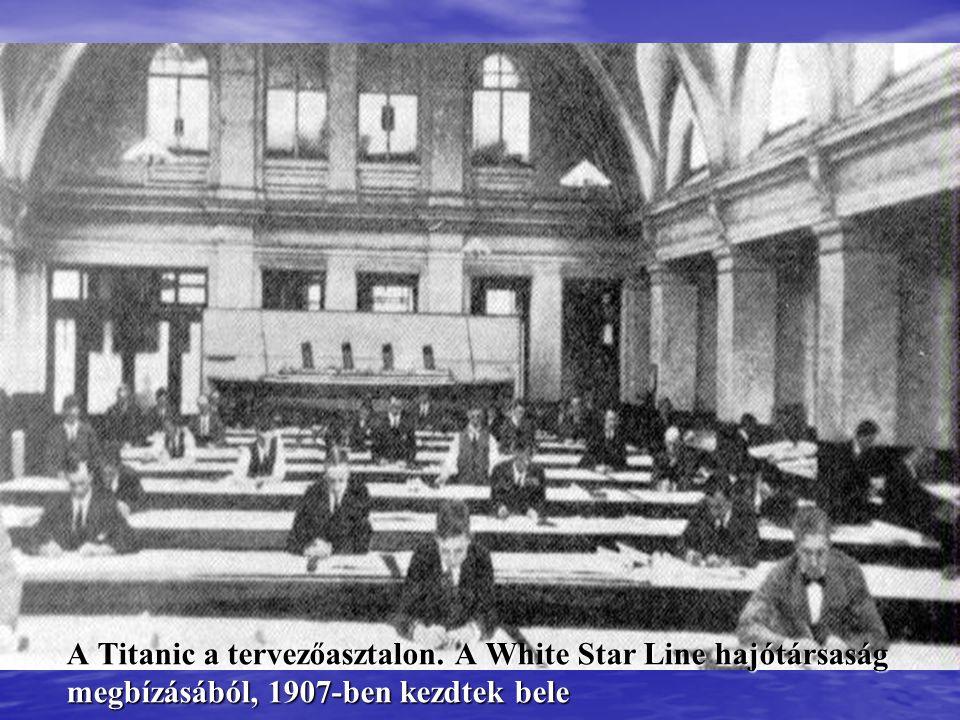 Képek a Titanicról A tervezéstől a végzetes első/utolsó úton és az elsüllyedésen át a roncsok megtalálásáig