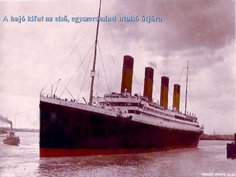 1912 április 10, southamptoni kikötő: a beszállás.