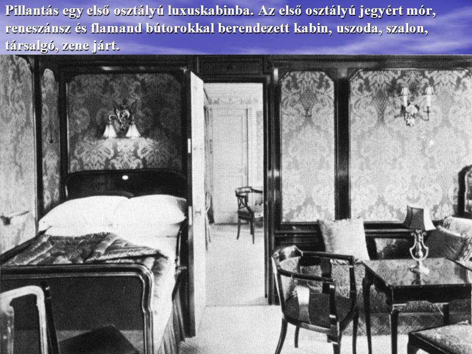 A Titanic Cherbourg kikötőjében főként szegény kivándorlókat vett fel: skandinávokat, arabokat, délszlávokat.
