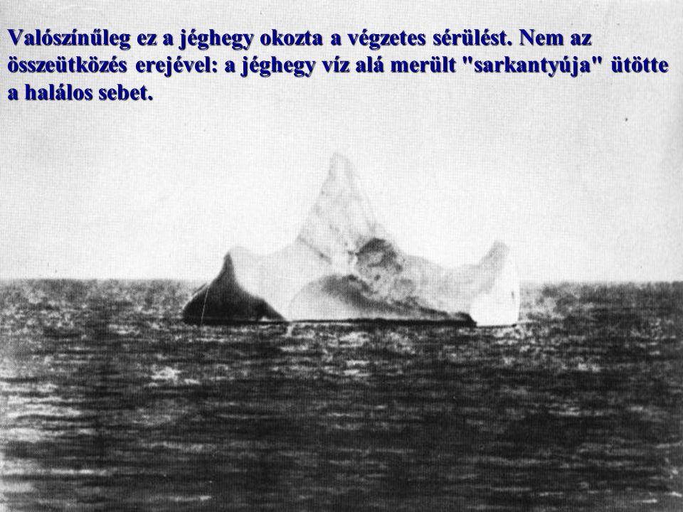 A kivilágított Titanic