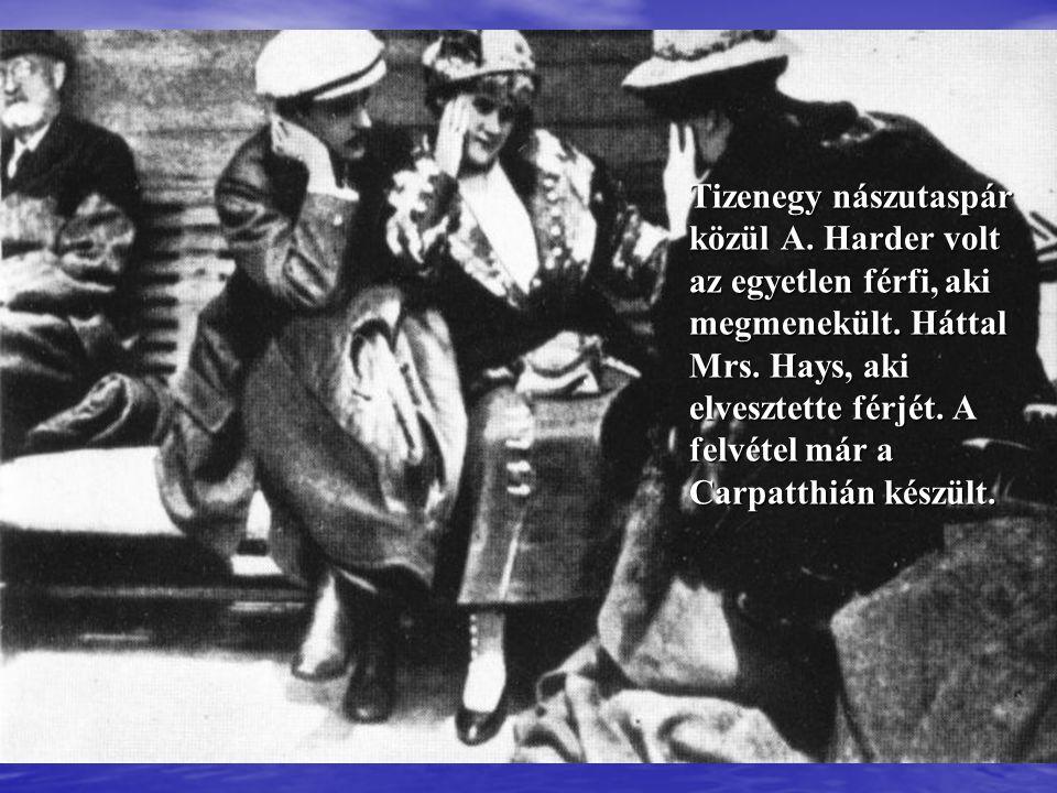A Carpathia, amely a Titanic túlélőit kimentette