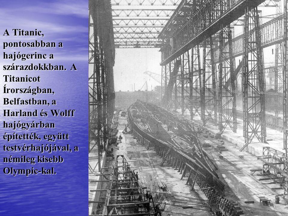 A Titanic hosszmetszete