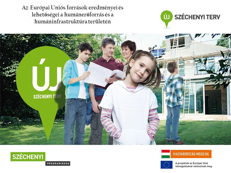 Az Európai Uniós források eredményei és lehet ő ségei a humáner ő forrás és a humáninfrastruktúra területén