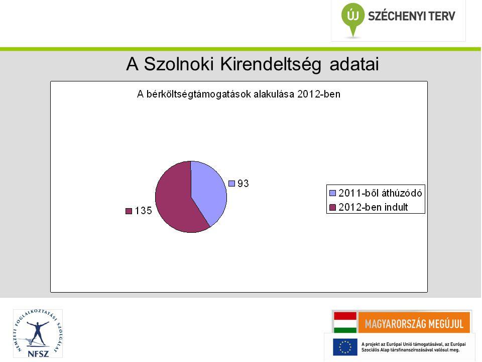 A Szolnoki Kirendeltség adatai