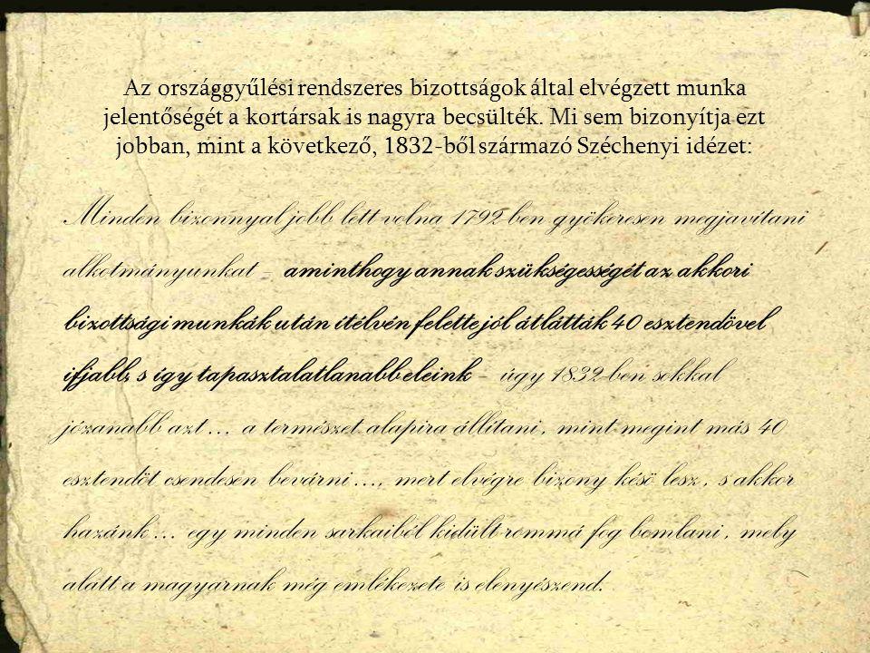 Az országgyűlés a királyi javaslatok meghallgatásával kezdődött.