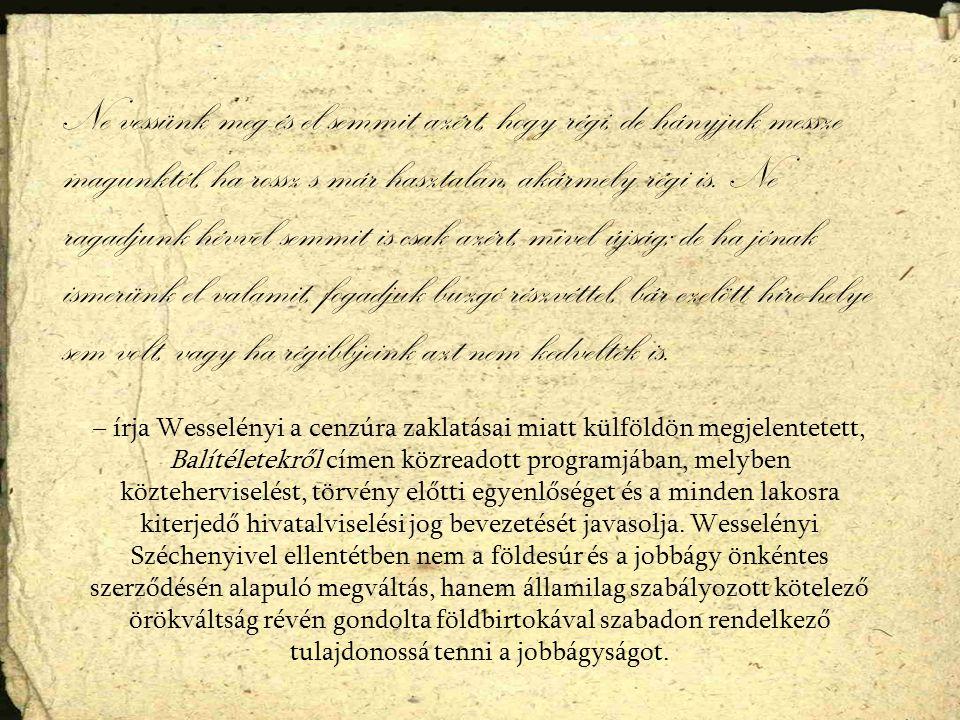 Kossuth Lajos 1841.