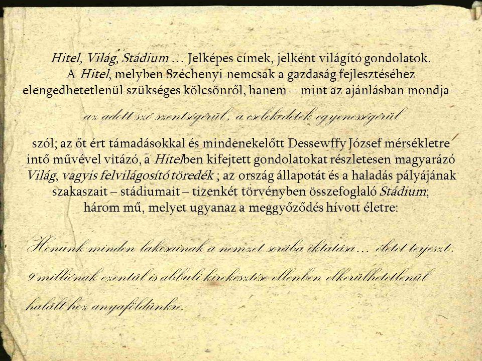 A Stádium korrektúra példánya