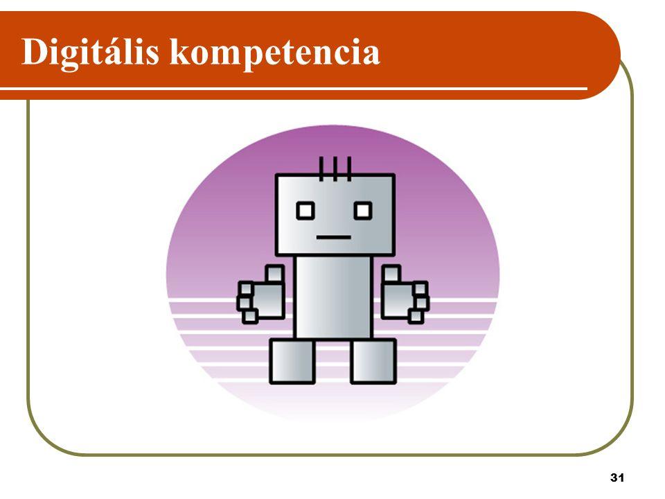 31 Digitális kompetencia