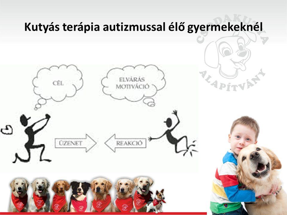 Kutyás terápia autizmussal élő gyermekeknél