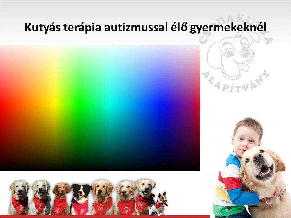Kutyás terápia autizmussal élő gyermekeknél Fontos: -Kudarctűrés (pl.: ha nem te vagy az első, ha nem te nyersz, ha várnod kell, stb.)