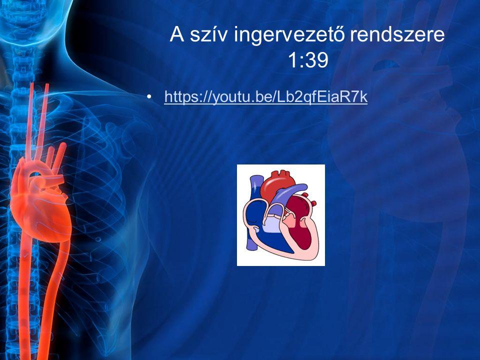 A szív ingervezető rendszere 1:39 https://youtu.be/Lb2qfEiaR7k