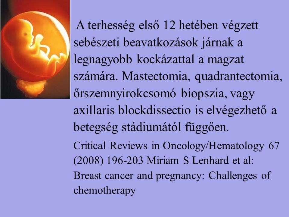 Mastectomia Az agresszív és jellemzően nagyobb tumor méret miatt a mastectomiák aránya nagyobb az emlőmegtartó műtétekhez képest.