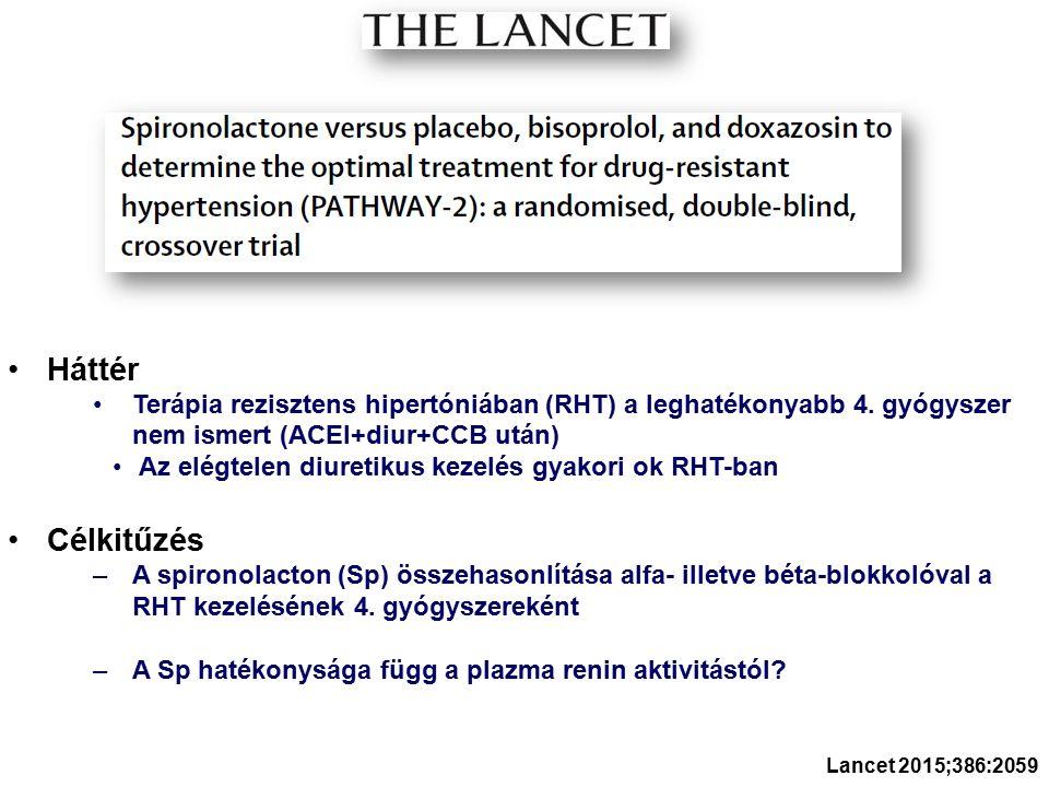 Háttér Terápia rezisztens hipertóniában (RHT) a leghatékonyabb 4.